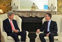 US Außenminister John F. Kerry in Brüssel