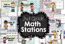 Teaching Resources to Share Second Grade Math
