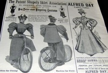 Victorian and Edwardian bicycling/sportswear fashions