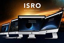 ISRO Website Concept