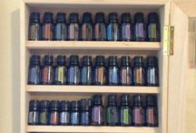 Essential Oils / General Info and Storage Ideas