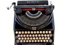 Typewriters / I just love old typewriters. I still use a 1926 Royal desktop upright to write my books & blogs on.