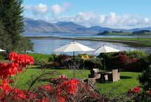 Great Venue for Weddings / Where better to get married then The Airds, on the West Coast of Scotland - stunning scenery, great food and fantastic service!