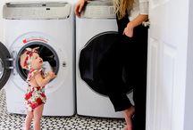 Ideas decoración lavado - Laundry room / Ideas decoracion hogar casa Cuarto de lavado mosaico de cemento baldosa hidraulica interior desing tiles