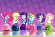 Cupcakes My Little Pony and Eqrestia Girls