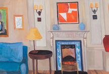 "Lottie Cole's 2017 Exhibition ""Living with Art - Collectors' interiors"""