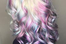 mermaid& rainbowhair& pixie