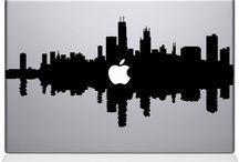 Skyline Mac Decals