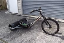 Drift Trikes / For kids that got older but didn't grow up. Big Wheel, Hedstrom Power Cycle, etcetera.