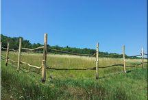 Lovas karám, karámfa / Karámfa, ló karám, szarvasmarha karám, ranch kerítés, akác korlátfa