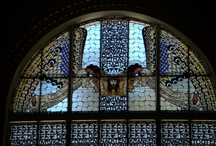 stained glass / by Monica Hernandez-Christophe