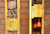insect hotel...