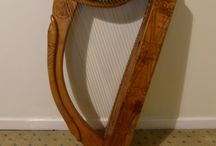 Queen Mary Harp Project / Building a musical (hopefully) instrument for my daughter.