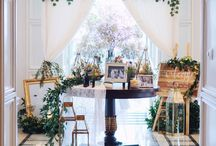 Yosua & Anneline Wedding / Nothing fancy, just love and a little magic in the city  Jakarta, Indonesia   Decorations by Papertree  Timeless Wedding cake by Le Novelle Brilliant photo by Tashmania