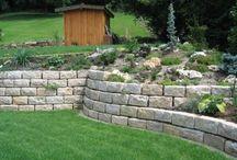 Haus - Garten Mauer