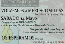 MERCADILLO COMILLAS / Mercado de libros , artesania y segunda mano  en el barrio de carabanchel