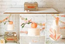 ORANGE WEDDING IDEAS  / by Celebrations by Amy Bacon 💍