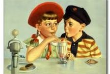 Postcards of children