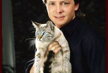 Celebrities With Their Cats