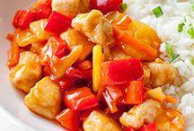 Food -> Dinner!