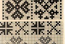 Fair Isle mønster