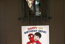 Spider-Man birthday party / by Alyssa Martinez