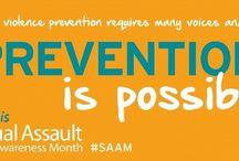 Sexual Assault Awareness Month / April is Sexual Assault Awareness Month