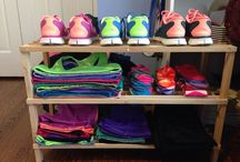 Organization.Workout clothes