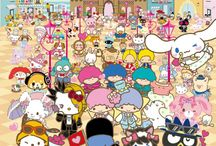 Les personnages de Sanrio