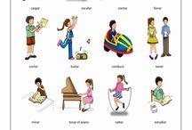 woordenschat werkwoorden