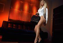 Vera Anokhina - вера анохина / Vera Anokhina, Long Hair, Model, Russia, Blonde, Sport, Bike