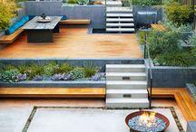Sloping garden -gradini inclinate