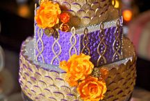 Moroccan Wedding Cakes Ideas