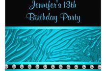 13th birthday ideas / by Kimberly Kingman Dayley