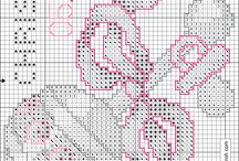 metrics baby cross stitch