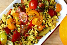 Scrambles / Whole food, plant-based Nutritarian Scrambles recipes brought to you by Love Chard - www.LoveChard.com