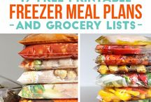 Recipes: Freezer Meals