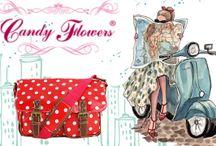 Candy Flowers Handtaschen & Acessoires / Taschen die glücklich machen…. Es ist das Besondere, die Qualität, die Individualität, ein unverwechselbares Design und die Liebe zum Detail - der perfekte Begleiter für jeden Anlass.