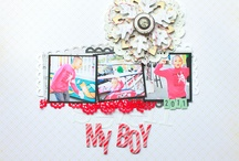 Scrapbook pages / by Jessica Moore