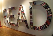 Book Nook / A place for beautiful bookshelves, writing desks, and creative, literary spaces.