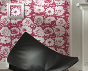 Modern Wallcoverings / It's not your grandmothers wallcovering. Street inspired and colored for todays homes. The easiest paper to hang and remove, ever!