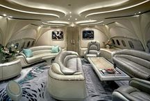Luxury car, aircraft, yacht