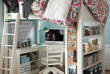 Indoor Spaces - Kids Rooms / by Shelby OConnell