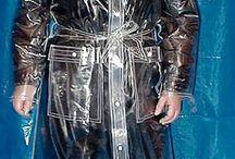 transparent raincoats