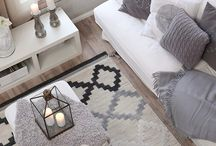 Rug & Roll / Rugs turn a room into your living area & make a house your home...