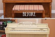 Furniture redo! / by Christel Rich