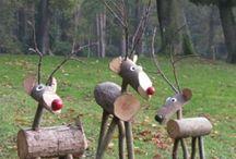 Dekorácie z dreva / Drevo