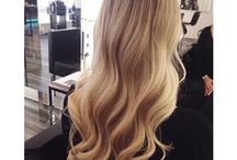 Hair. / Fancy hair