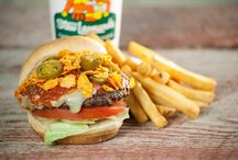 Hoe-Down Grill / Farm Fresh Favorites from our Hoe-Down Grill! Made to order - freshest burgers and classic road-side favorites around!