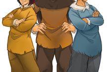 Brother bear / My favourite childhood movie. I love Kenai, Koda, Denahi and Sitka so muuuch :')